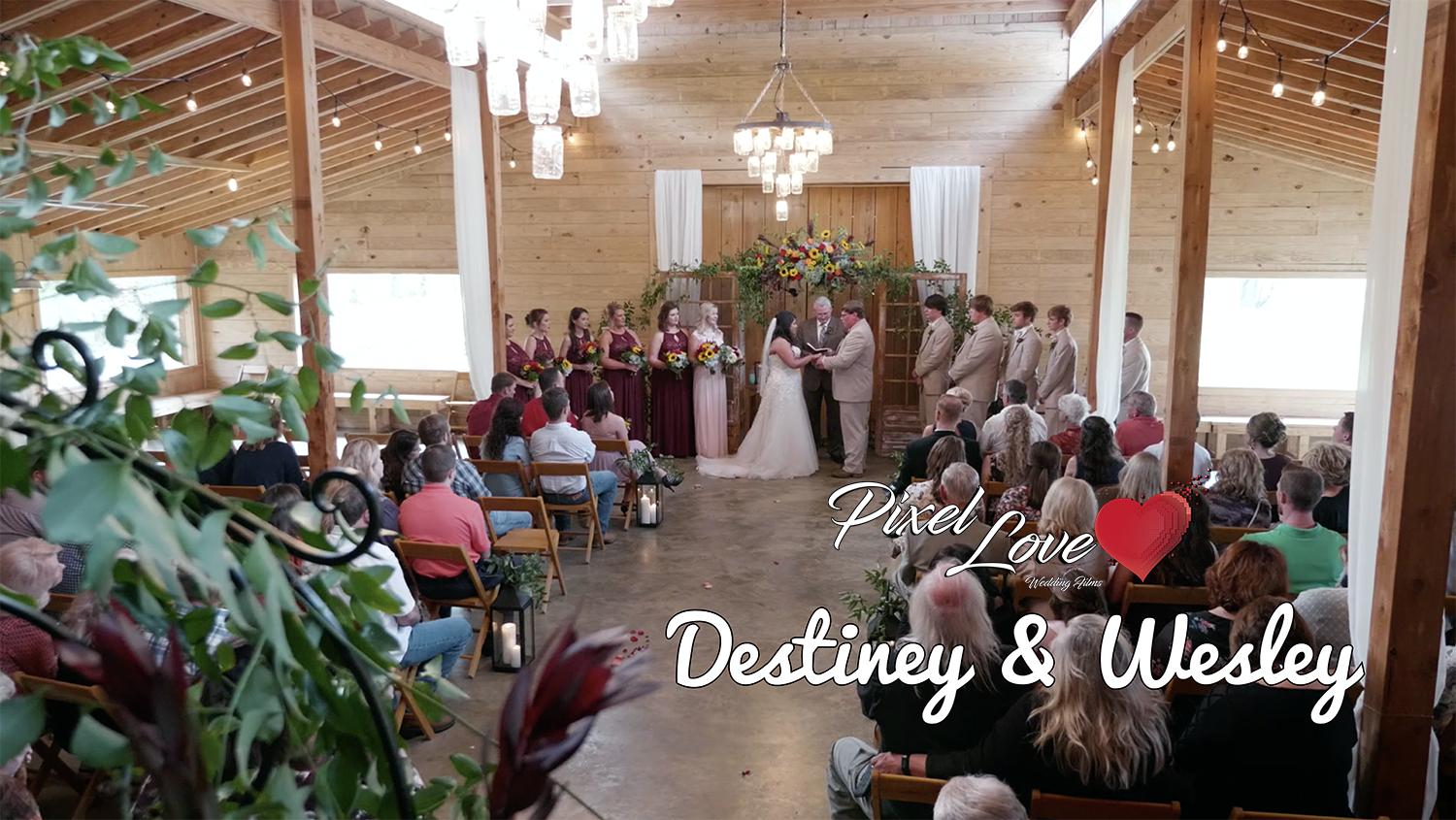 Destiney & Wesley – The Red Barn, Corinth, MS