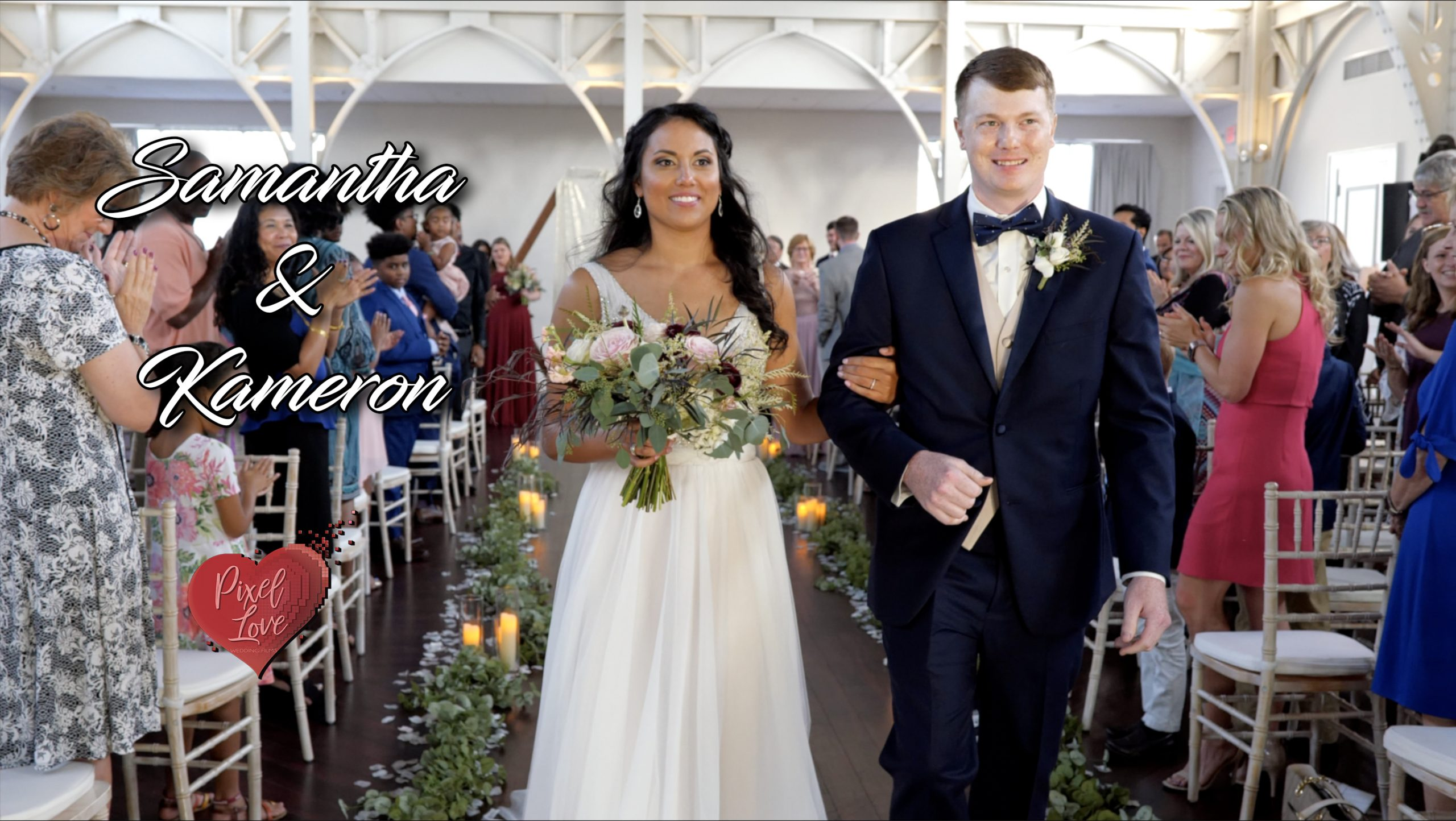 Samantha & Kameron – Wedding at The Atrium at Overton Square, Memphis, TN