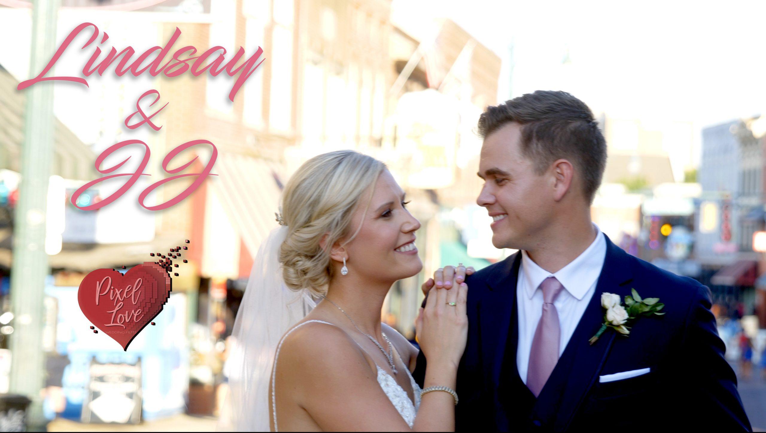 Lindsay & JJ – Wedding at 409 South Main